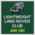 Lightweight Land Rover Club Main Site
